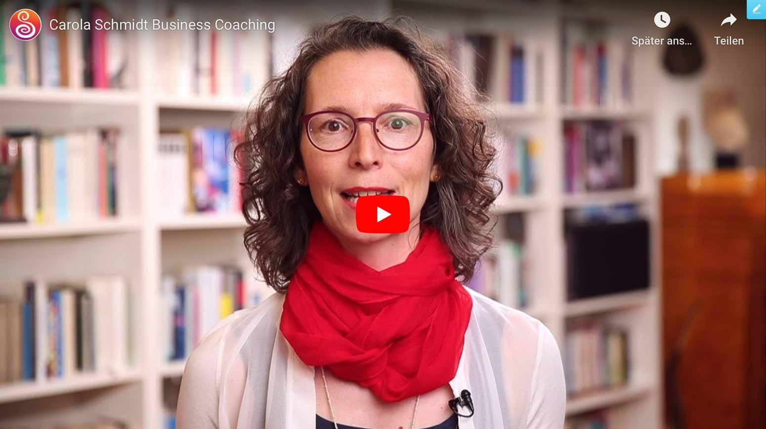 Carola Schmidt systemischer Coach