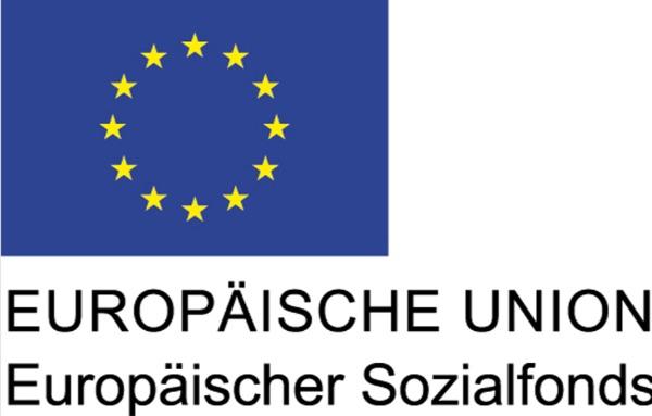 Logo Europäische Union Europäischer Sozialfonds